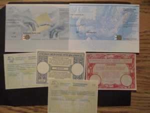 Worldwide Lot of Intl UPS response coupons  Mint