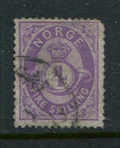 Norway #19 Used (LOT#L)