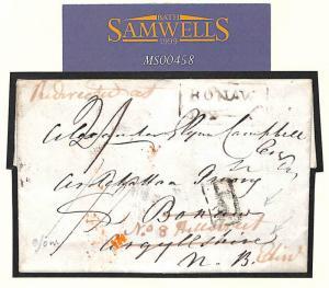 MS458 1826 GB Scotland ADD HALF Cover *Redirected at* BONAWE Argylls