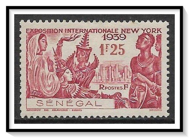 Senegal #191 NY World's Fair MHHR