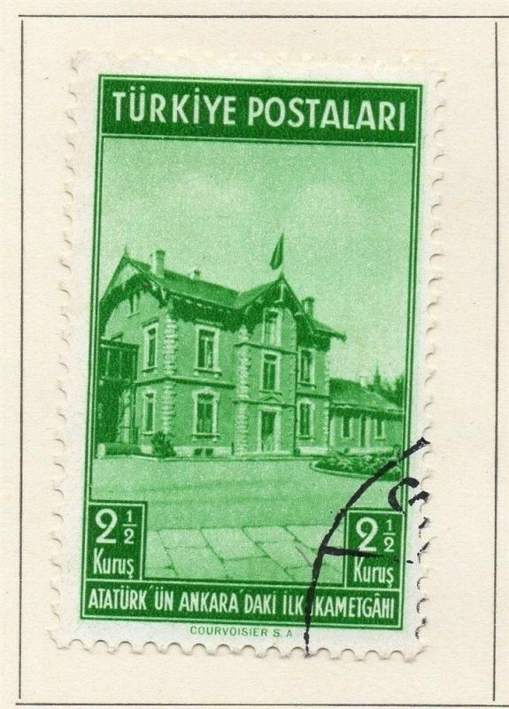 Turkey 1939 Early Issue Used 2.5k. 185331