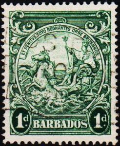 Barbados. 1938 1d  S.G.249c Fine Used