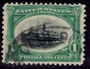 US Stamp #294 1c Pan-American USED SCV $3.00