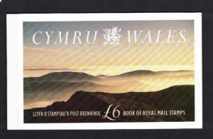 Great Britain: 1992, Prestige Stamp Booklet, Wales, Mint