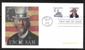 United States 3263 Uncle Sam Fleetwood FDC First Day Cover