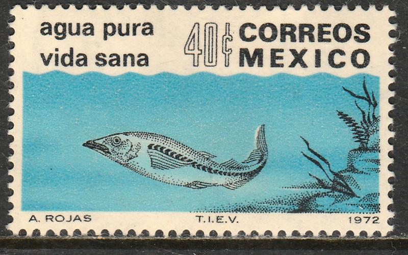 MEXICO 1049, Anti-Pollution Campaign MINT, NH. F-VF.