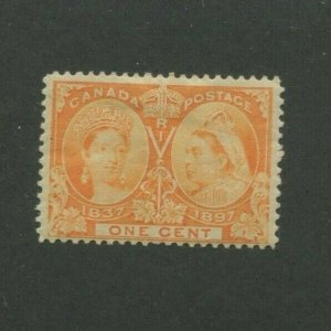 1897 Canada Postage Stamp #51 Mint Hinged F/VF Original Gum