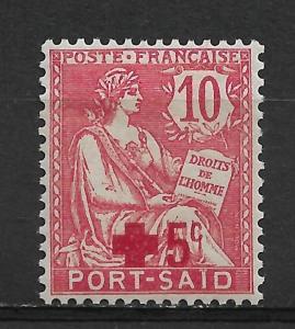 French Offices-Port Said 1915 Scott # B1,VF MLH*OG (FC-6)
