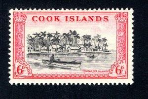 Cook Islands, Scott 136, F/VF, Unused, Original Gum, CV $5.25   ..... 1500092