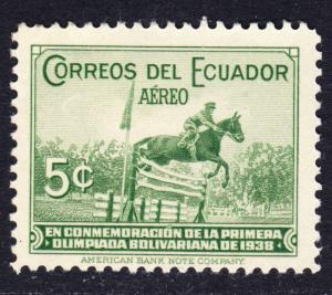 Ecuador Scott C65  F+  mint OG LH.
