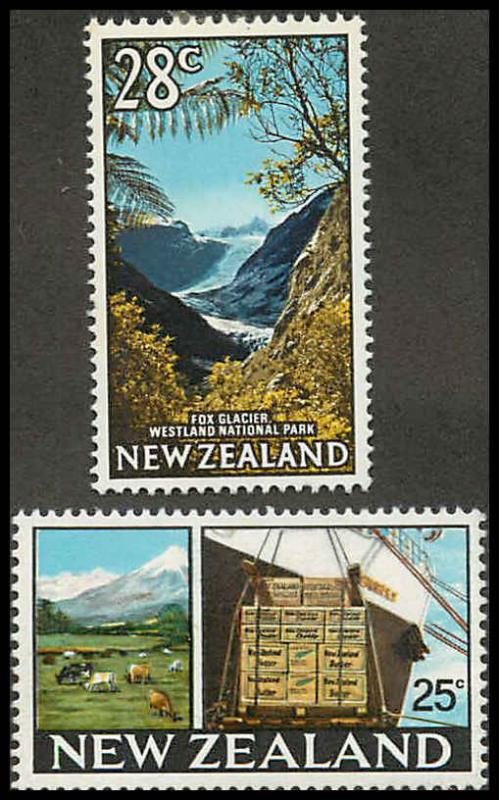 New Zealand 397-398 Mint VF H