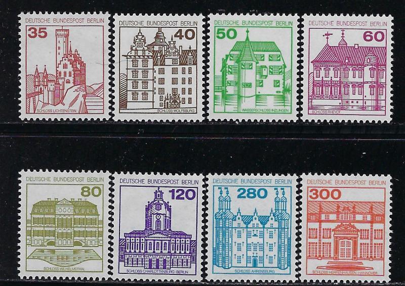 Germany Berlin Scott 9n438 9n445 Mint Nh Cpl Set Hipstamp