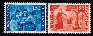 Liechtenstein Stamp 1960 Countryside Motives MH/OG STAMPS