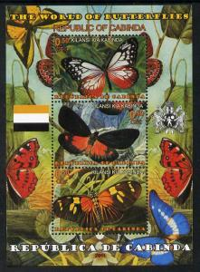 Somaliland 2011 The World of Butterflies perf sheetlet co...