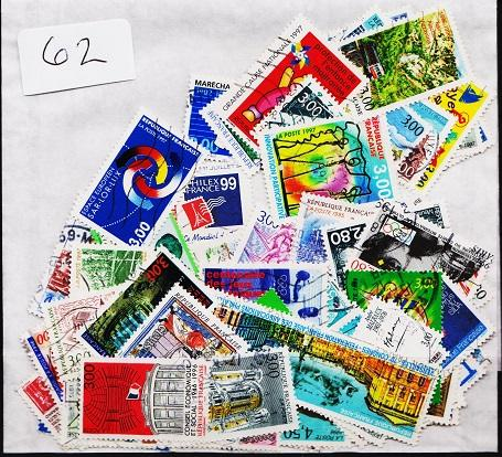 France. Mixture. 100 stamps. May be some duplication.Fine Used