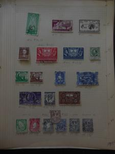 IRELAND : All different Used collection on pages. Scott Cat $892. Good Starter.