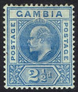AMBIA 1902 KEVII 21/2D WMK CROWN CA