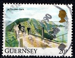 Guernsey 1984 SG. 310 used (10806)