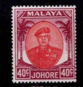 Malaya Jahore Scott 146 MH*