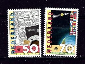 Netherlands 650-51 MH 1983 set