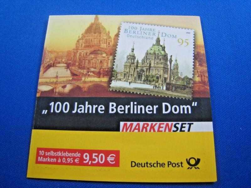GERMANY MNH STAMPS - SCOTT #2329a  COMPLETE BOOKLET           (brig)