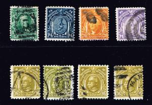 US STAMP Philippines USED STAMP COLLECTION LOT