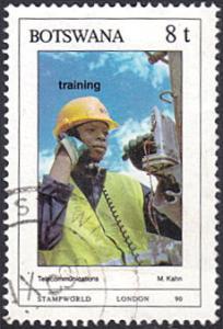 Botswana # 472 used ~ 8t Telecommunications Training