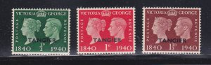 Great Britain Offices In Morocco 518-520 Set MNH, Tangier (A)