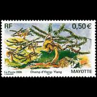 MAYOTTE 2005 - Scott# 211 Ylang Trees Set of 1 NH