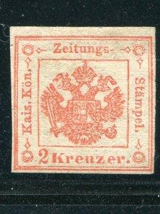 Austria  Lombardy  #PR2  Unused  VF - Lakeshore Philatelics
