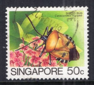 Singapore 459a Insect Used VF