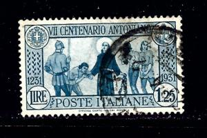 Italy 262 Used 1931 issue