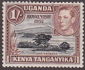 KUT 99 Lake Naivasha, Royal Visit 1952