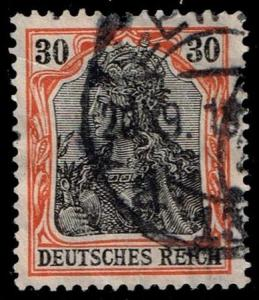 Germany #86 Germania; Used (1.50)