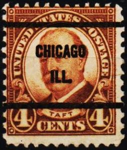 U.S.A. 1930 4c(Pre Cancel) S.G.686 Fine Used