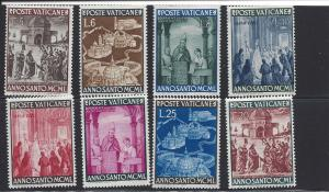 Vatican, 132-39, Holy Year 1950 Singles, **LH**
