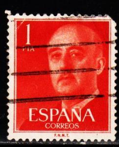 Spain - #825 General Franco  - Used