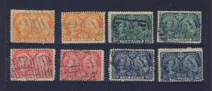 8x Canada Victoria Jubilee Mint Stamps 2x Each #51-52-53-54 Guide Value = $70.00