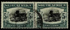 South Africa 65 pair Used - Ox Wagon (1949)