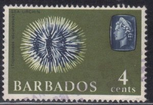 BARBADOS  SC# 270  USED  4c 1965  SEE SCAN