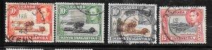 Kenya,Uganda,Tanganyika #69 -72     (U)  CV $4.85