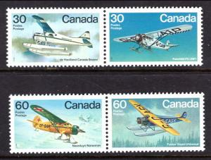 Canada 969-972 Airplanes MNH VF