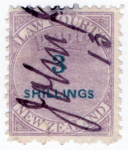 (I.B) New Zealand Revenue : Law Courts 3/-