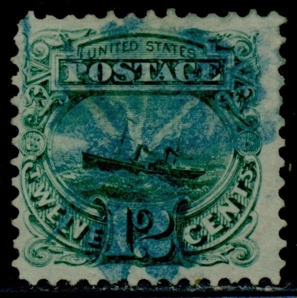 117 vf used with blue cancel cv  290 00 bq6827    hipstamp