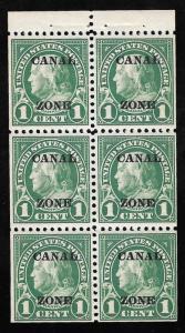 CANAL ZONE 71E 1 cent  Benjamin Franklin Stamp mint OG NH SUPERB
