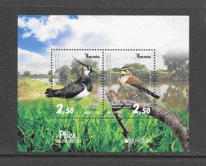 BIRDS - BOSNIA (MUS) #817a  EUROPA 2019   MNH