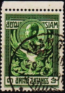 Thailand. 1910 3s S.G.142 Fine Used