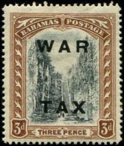 Bahamas SC# MR14 SG# 105 War Tax 3d MH