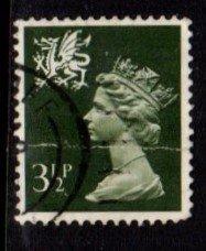 Wales - #WMMH3 Machin Queen Elizabeth II - Used
