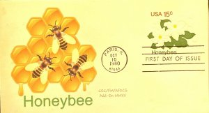 AFDCS U599 Honeybee Stamped Envelope Add On 2020